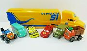 Disney Pixar Cars Various Movies And Models Lot Of Seven Toys Including Hauler