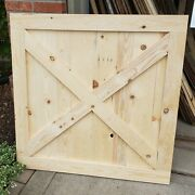 Custom Made Farmhouse Baby/pet Gate 36-41 In Width Free Shipping