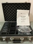 New Williams Sound Personal Pa Fm Receiver Model R7 With Headphones And Case