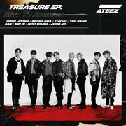Ateez Treasure Ep. Map Answer Type A First Limited Edition Cd Dvd 4549767084824