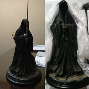Weta Ringwraith Nazganducircl Statue Figurine The Lord Of The Rings 16 Model Sdcc