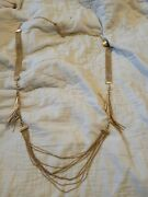 Andnbspvintage Cabi Gold Interchangeable Design Necklace Three Sections Cabi Marked