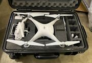 Dji Phantom 4 Pro Plus + Drone With Carrying Case And Extra Props
