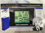 Excalibur Einstein Brain Games Touch Crossword 5 Games In 1 Learning Game New