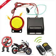 Motorcycle Scooter Security Alarm System Anti-theft Search With 2 Remote Control