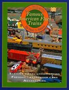 A.c. Gilbertandrsquos Famous American Flyer Trains - Out Of Print - Last New Book