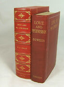 H. G. Wells Amazing 1900 First Edition Love And Mr. Lewisham - Signed Must See