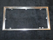 67-71 Ford Mercury Lincoln Nos Deluxe Accessory Front - Rear License Plate Frame