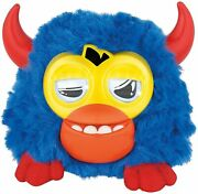 Furby Party Rockers Creature Dark Blue With Horns
