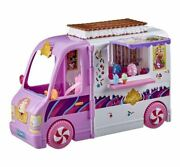 Disney Princess Comfy Squad Sweet Treats Truck Vehicle Playset With 16