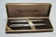 Targa By Sheaffer Sterling Silver Pen And Pencil Set==nos