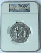 2013-p Mount Rushmore Ngc Sp70 Early Releases 5 Oz America The Beautiful Silver