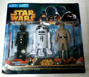 Star Wars No Collectible 6 Darth Vader Luke White R2-d2 Action Figure 3pack Moc