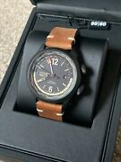 Christopher Ward C8 Utc Worldtimer Aviator Pvd Watch - New Gmt Automatic