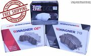 Wagner Qc1098 Thermoquiet Ceramic Brake Pads Front