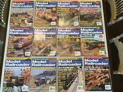 Model Railroader Magazine 2007 Lot Of 12 Complete Year