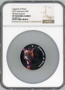 Legends Of Music 2019 Michael Jackson 1oz Silver Coin Ngc Ms70 Ultra Cameo