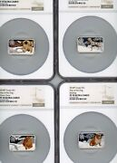 Error Label Year Of The Dog 4 Coin Set Lunar 2019 Tuvalu Ngc Pf 70uc Pop 1 Only