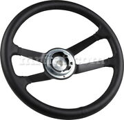 For Porsche 911/930 912 Black Leather Steering Wheel 380mm 1963-70 New
