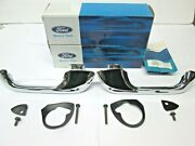 Nos 61 66 Ford Truck Outside Door Handles With Gaskets C3tz-8122404-b
