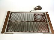 Vintage 1976 Salton H-930 Hot Tray Food Warming Tray 20x11 With Cord
