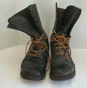 Ww 2 Us Army Or Marine Corps Combat Boots Size 10 R