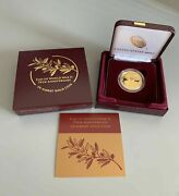 End Of World War 11 75th Anniversary 24 - Karat Gold Coin Only Mintage 7500