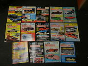 Lot Of 14 Car Modeler Magazine Premier Issue 1-13 And 15
