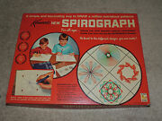 Kennerand039s 1967 Vintage Spirograph 401 Original Has All Gears Missing Pens Nice
