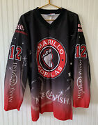 Amarillo Gorillas Hockey Jersey Make A Wish 12 Adult Size Xl Official On Ice