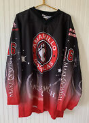 Amarillo Gorillas Hockey Jersey Make A Wish 16 Adult Size 2x - Official