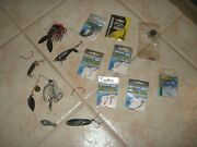 Lot Of 8 Packages Lot Of Salt Water Fishing Hooks And 5 Salt Water Lures