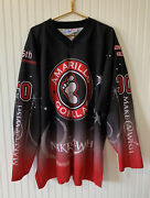 Amarillo Gorillas Hockey Jersey Make A Wish 30 Adult Size 3xl Official