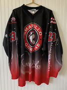 Amarillo Gorillas Hockey Jersey Make A Wish 23 Adult Size 2x - Official