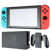 Nintendo Switch 32gb Console Bundle With Red And Blue Joy-cons Hac-001