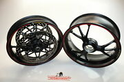 12-17 Ducati 1199 Panigale S Marchesini Forged Front Rear Wheel Rim
