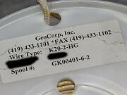 Geocorp K20-2-hg 20/2c High Temperature Glass Braid Thermocouple Wire K /50ft