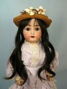 Antique Kammer And Reinhardt Simon And Halbig German Bisque Head Doll 20 So Pretty