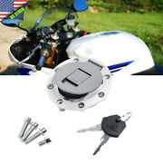 Motocycle Fuel Gas Tank Cover Cap And Key For Yamaha Yzf R1 1998-1999 R6 1999-2000