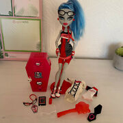 Monster High Original Ghoulia Yelps Doll Limited Edition - Discontinued And Rare
