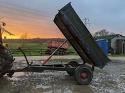 4 Ton + Farm Tipping Trailer For Equestrian Use Small Holding For Tractor