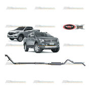 Redback Extreme 3 Exhaust With Cat And Muffler For Ford Ranger Px Mazda Bt50 3.2l