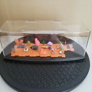 Wacky Races Diorama Set Vol.1 A Japan Limited Very Rare With Acrylic Case