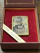 Zippo Coleman 100th Anniversary Limited Coleman Limited 2000 Antique Gold