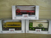 Exclusive First Editions 3 Commercial Delivery Vehicles 1/76th Lot E12 Post Incl