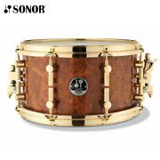 Sonor 13x7 Amboina Maple Artist Snare Drum - Made In Germany - Authorized Dealer