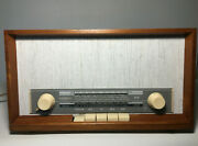 Vintage Radio Grundig Musikgerät 96m. Fully Restored And Working.made In Germany