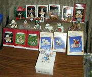 Cool And Faboulous Decade Ornaments 1991, 1993-1998, 200-2004, 2007 Hallmark Mib