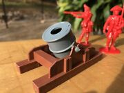 1776 Revolutionary War Siege Motor Cannon Howitzer Cta Accurate Marx Sons Awi