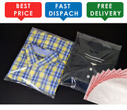 T-shirt Packing Garment Clear Cellophane Plastic Bags Self Seal Adhesive Tape